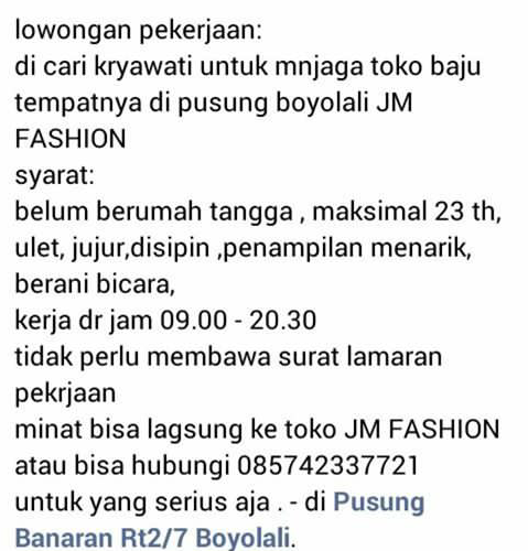 jm fashion