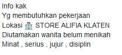 store alifia